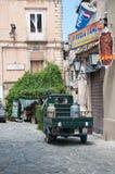 Les rues merveilleuses de la belle ville de Tropea Photos stock