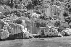 Les ruines Images libres de droits