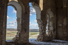 Les ruines Photographie stock