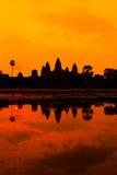 Les ruines antiques d'un temple historique de Khmer dans le compl de temple Photographie stock libre de droits