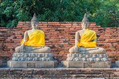 Sculpture en Bouddha Photo libre de droits