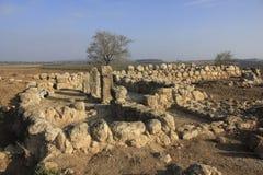 Les ruines antiques de Timna de Judea photos stock