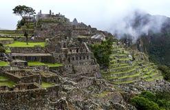 Les ruines antiques incroyables de Machu Picchu au Pérou Photos stock