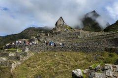 Les ruines antiques incroyables de Machu Picchu au Pérou Photo stock