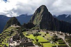 Les ruines antiques incroyables de Machu Picchu au Pérou Photos libres de droits