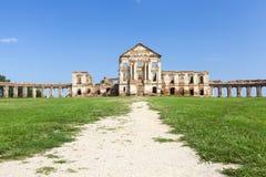 Les ruines d'un château antique Photographie stock