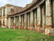 Les ruines d'un château antique Photos libres de droits