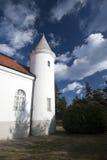 Les ruines d'un château médiéval dans Voivodinian Images libres de droits