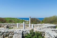 Les ruines d'une ville antique Photos libres de droits