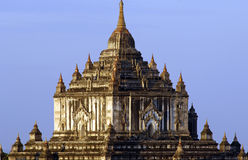 Les ruines de Bagan (païen) photo stock