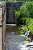 Les ruines de barrage Photographie stock libre de droits