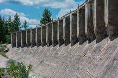 Les ruines de barrage Photographie stock