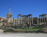 Les ruines de Dougga Image stock