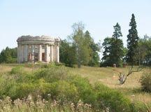 Les ruines de l'église Photo libre de droits