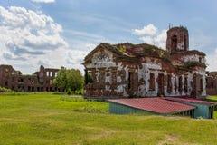 Les ruines de la cathédrale de St John le baptiste images libres de droits