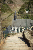 Les ruines de la forteresse impériale Beilstein irréfutable, allemandes Photo libre de droits