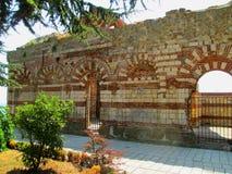 Les ruines de la vieille église Photos stock