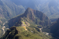 Les ruines de Machu Picchu Image stock
