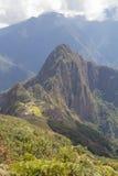 Les ruines de Machu Picchu Images libres de droits