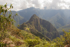 Les ruines de Machu Picchu Photos stock