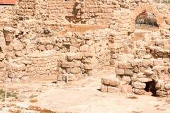 Les ruines de monastère d'Euthymius. Photo libre de droits