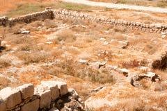 Les ruines de monastère d'Euthymius. Photographie stock