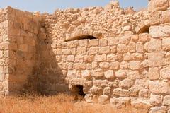 Les ruines de monastère d'Euthymius. Image libre de droits