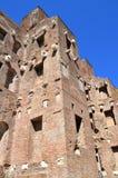 Les ruines des bains de Diocletian dans le Musée National de Rome Images libres de droits