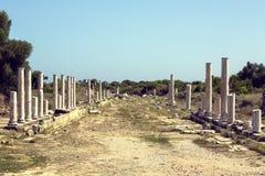 Les ruines du côté antique Image libre de droits