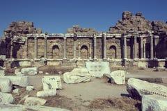 Les ruines du côté antique Images libres de droits