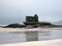 Les ruines du château de Ballerskelligs, Irlande photos libres de droits