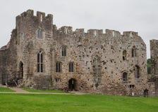 Les ruines du château de Chepstow, Pays de Galles Photo libre de droits