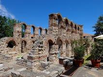 Les ruines du Nessebar antique Photos libres de droits