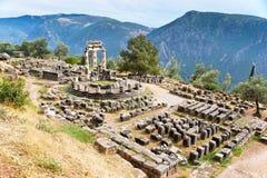 Les ruines du temple images stock