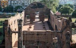 Les ruines du temple Photo stock