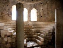 Les ruines du temple de Saint-Nicolas le Wonderworker Photos stock