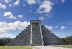 Les ruines maya à chichen l'itza, Mexique Images libres de droits