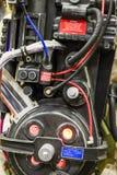 Les séries de photographie à la convention comique d'escroquerie, sur Ghostbuster aiment des personnes photo libre de droits