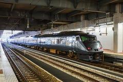 Les 787 séries un train rapide limité Photo libre de droits