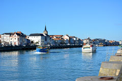 Les Sables d'olonnes harbour Royalty Free Stock Image