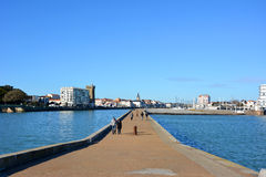 Les Sables Perspective View Royalty Free Stock Image