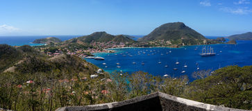 Les Saintes in Guadeloupe Royalty Free Stock Photography