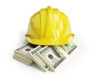 Les salaires des ouvriers Image stock