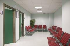 Les salles de refuge et de chirurgie à la clinique centrent image libre de droits