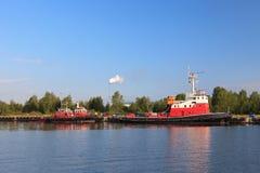 Les sapeurs-pompiers de mer Photographie stock libre de droits