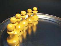 Les schémas 14 d'échecs Images stock