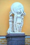 Les sculptures sur le bâtiment de l'Amirauté principal Photographie stock
