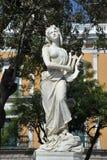 Les sculptures sur le secteur de Murillo dans La Paz Photographie stock libre de droits