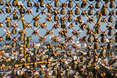 Les serrures d'amour sont un symbole de l'amour pour les jeunes et touriste Photos libres de droits