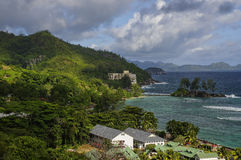 Les Seychelles, île de Mahe Photo libre de droits